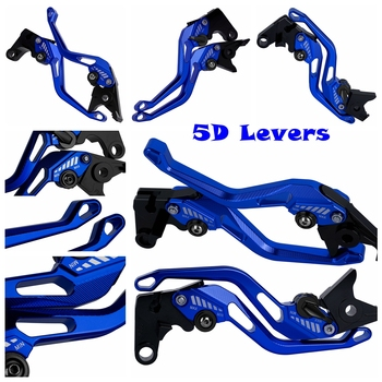 For Yamaha YZF R3 R25 YZF-R3 YZF-R25 MT-03 MT-25 MT 03 25 MT03 MT25 CNC Motorcycle 5D New Style Long&Short Brake Clutch Levers