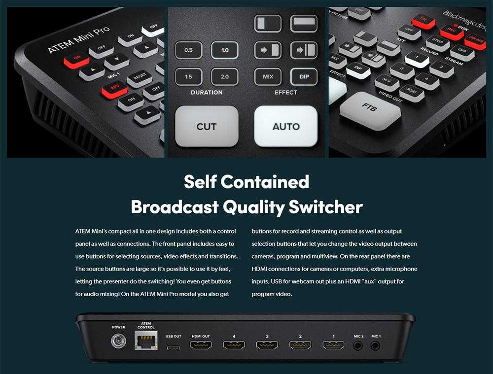 Blackmagic Design ATEM Mini Pro 4
