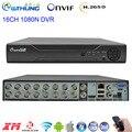 1080N DVR Neue H.265 16CH mit Smilar DaHua panel 6 in 1 Hybrid Video Recorder XMEYE HDMI für 1080P AHD Tvi Cvi Analog Ip Kamera