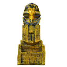 RONGHER Backflow Incense Burner Aromatherapy Furnace  Crafts Creative Ancient Egyptian Buddha Statue Office