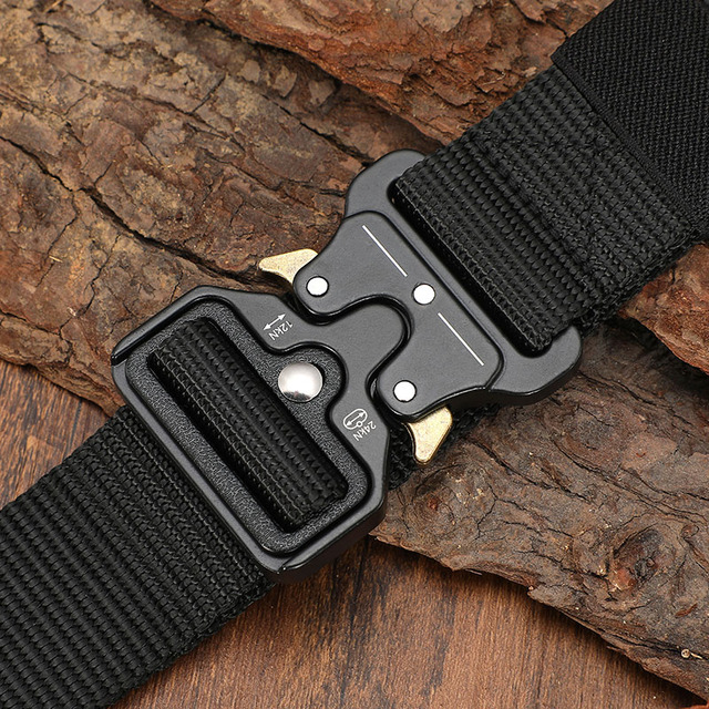Tactical Military Canvas Outdoor Tactical Belt 2