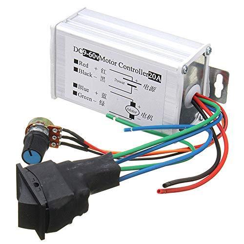 Dc 12 v 24 v 36 v 48 v 소프트 스타트 가역 모터 속도 제어 pwm 컨트롤러 pwm 핫 세일