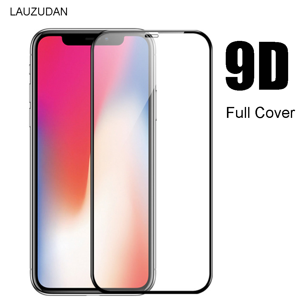 Gehard Glas Voor Iphone Xr 8 7 6 6S 11 X Xs Max Screen Protector Glas Op Iphone 11 8 7 6S Plus Xr X 11 Pro Max 9D Volledige Cover title=