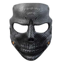 game death stranded Sam mask cosplay Die-Hardman Mask cosplay resin half face Halloween adult holiday atmosphere play props mask