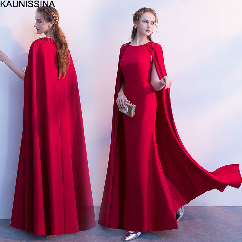 KAUNISSINA Elegant Cocktail Dress With Clark Party Gowns Prom Dress Solid Homecoming Dresses Vestidos