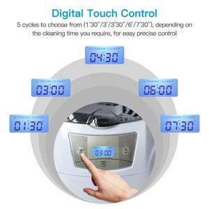 Image 2 - SKYMEN ultrasonik temizleyici 600ml 35W 40kHz ultrasonik çamaşır para paraları takı pedikür tırnak sanat araçları temizleyici