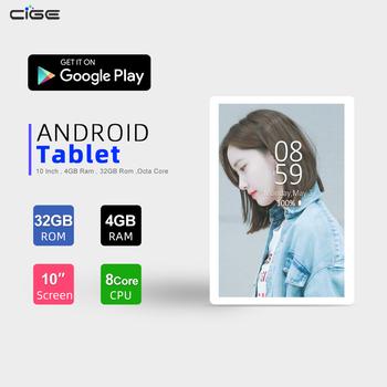 Nowy Model tablety 10 Cal Tablet Android 9 0 4GB RAM 32GB ROM 4G LTE WiFi Bluetooth GPS 6000mAh typ baterii C tablety PC tanie i dobre opinie NoEnName_Null CN (pochodzenie) ultra cienkie Z dwiema kamerami Rysik do tabletu Tablety dla dzieci 3g zewnętrzny Gniazdo słuchawkowe