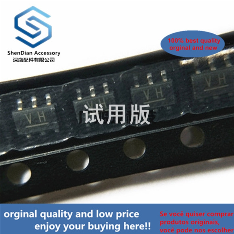 10pcs 100% Orginal New RN4607 PNP + NPN Composite Band Stop Double Triode SOT-163 SOT23-6