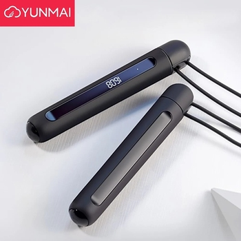 Xiaomi mijia YUNMAI Smart Training Skipping Rope APP Data Record USB Rechargeable Adjustable Wear Resistant Rope Jumping