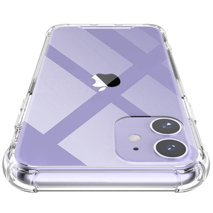 Shockproof Phone Cases For iPhone 11 Pro X Xs Max Transparent Silicone Case For iPhone 7 8 6 6S Plus SE 2020 XR Case Back Cover