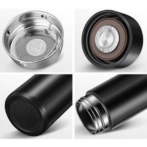 Image 5 - 500ML Edelstahl Thermos Flasche Temperatur Display für Männer Frauen Wasser Flaschen Reise Kaffee Becher Tee Milch Tassen Thermoskanne