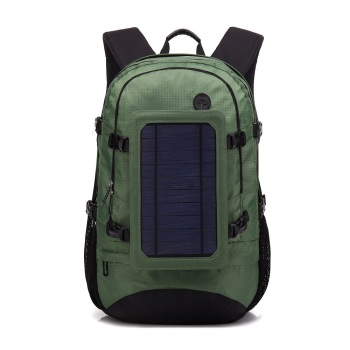 Travel Backpack 6.5W 5V Solar Panel Backpack Multifunctional Business Power Bank Shoulder Bag Waterproof USB Charger Bag mochila