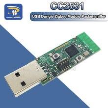 Беспроводной Zigbee CC2531 Sniffer Обнаженная плата пакетный протокол анализатор модуль с usb-портами Dongle Capture Packet Module