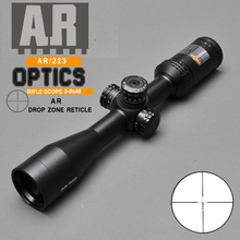 Охотничий прицел AR 3-9X40mm AR Drop Zone-223 тактический прицел с боковым параллаксом оптический прицел