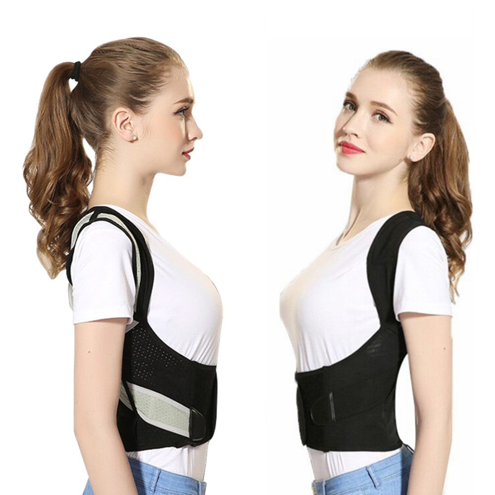 Tlinna Posture Corrector Belt with Adjustable Dual Strap Design to Get Perfect and Confident Body Posture Suitable to Wear Under or Over Clothing 1