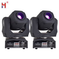 Mini Spot 60W LED Moving Head Light With Gobos DMX512 DMX 9/11 Channels Professional Led Stage Light(2pcs/Lot)