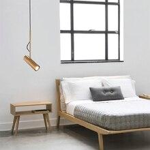 Modern Nordic Pendant Lamp Gold Black White Led Hanging Lights Fixture for Dining Room Bedroom Office Adjustable Lustre Pendente