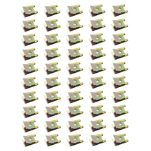 Leepee 50個ブロンズトーン春金属クリップ自動ファスナークリップ鉄ナット車のドアパネル尖塔ネジu型クリップ