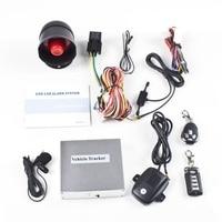 Voertuig Beveiliging Auto Alarm Systeem Met Twee 4 Knop Zenders op