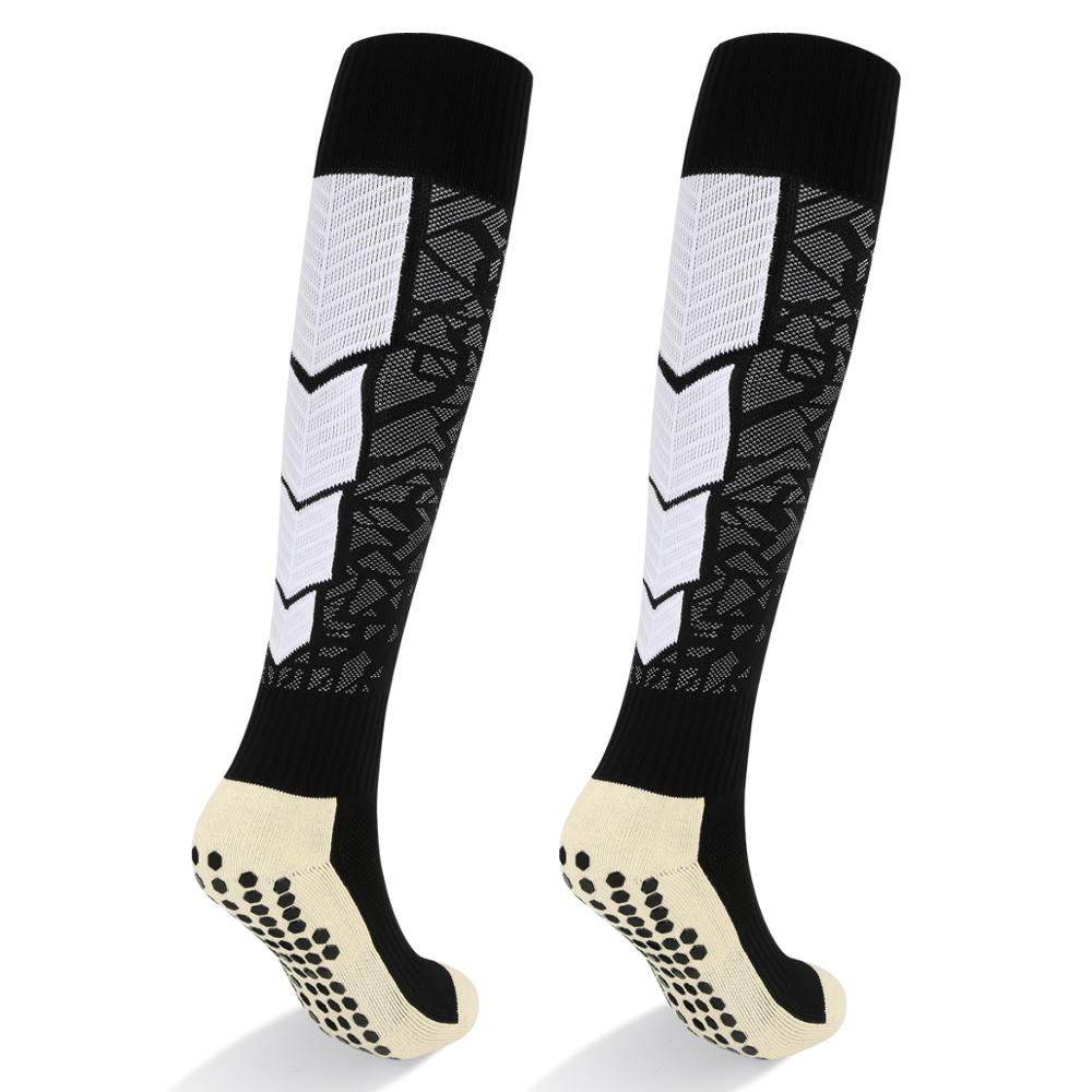 YUEDGE 2019 Professional Adult Long Team Cotton Football Socks Over Knee-high Men Socks Sport Soccer Socks