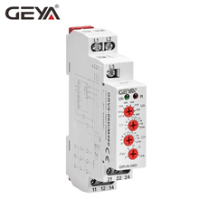 Free Shipping GEYA GRV8-06 3 Phase Voltage Adjustable Relay Phase Failure Phase Sequence Protector 10A AC220V-460V [show z store] kfc e a v i metal phase 10a kingzilla