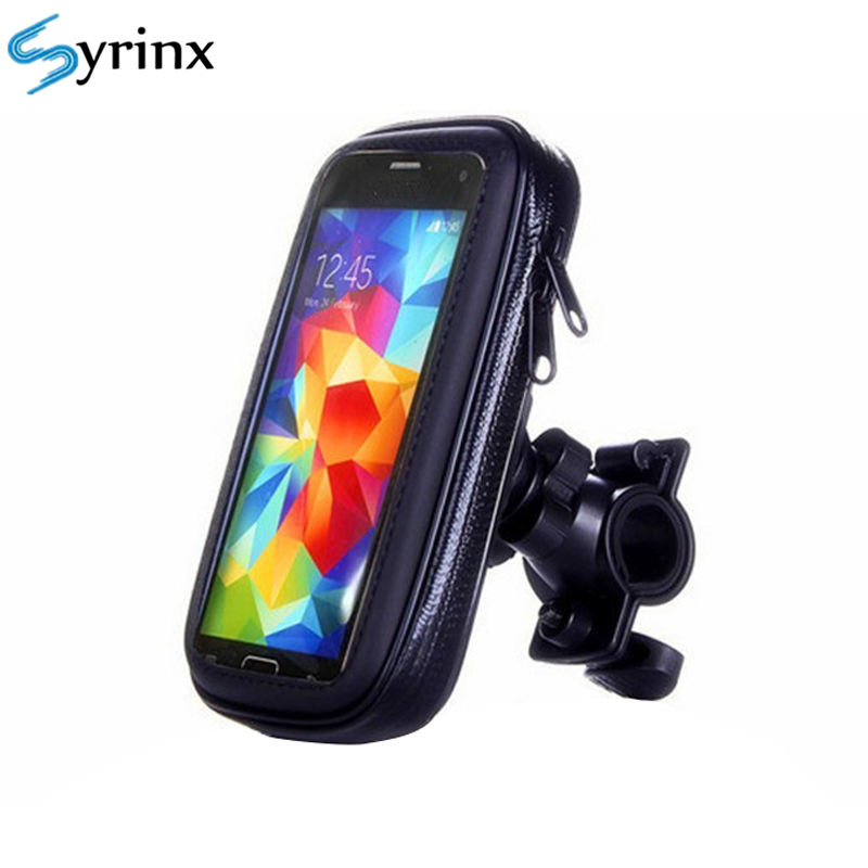 Outdoor Riding Bicycle Motorcycle Phone Holder Waterproof Case Bike Phone Bag For IPhone X 11 Mobile Stand Support Scooter Cover