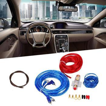 Amplificador de Cable de alimentación para coche, Kit de instalación de amplificador de Cable de Audio para automóvil, potencia de 8GA, altavoz Subwoofer de 1500W, modelo Pioneer Car