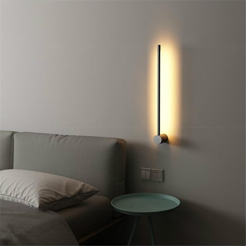 nordic moderno metal lampada de parede minimalista personalidade criativa corredor fundo da parede luz sala estar