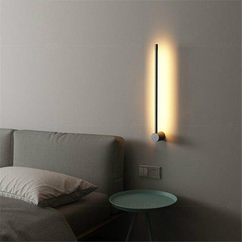 nordic moderno metal lampada de parede minimalista personalidade criativa corredor fundo da parede luz sala