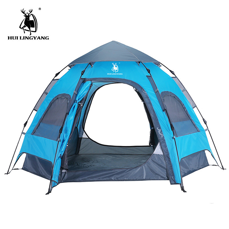 Automatic Setup Ideal Shelter for Casual Family Camping