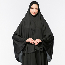 Muslim Hijab Women Arab Solid Long Hijabs