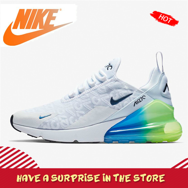 Original Authentic Nike Air Max 270 Men's Running Shoes Outdoor Sneakers Comfortable Shock Absorbing Lightweight 2019 New AQ9164