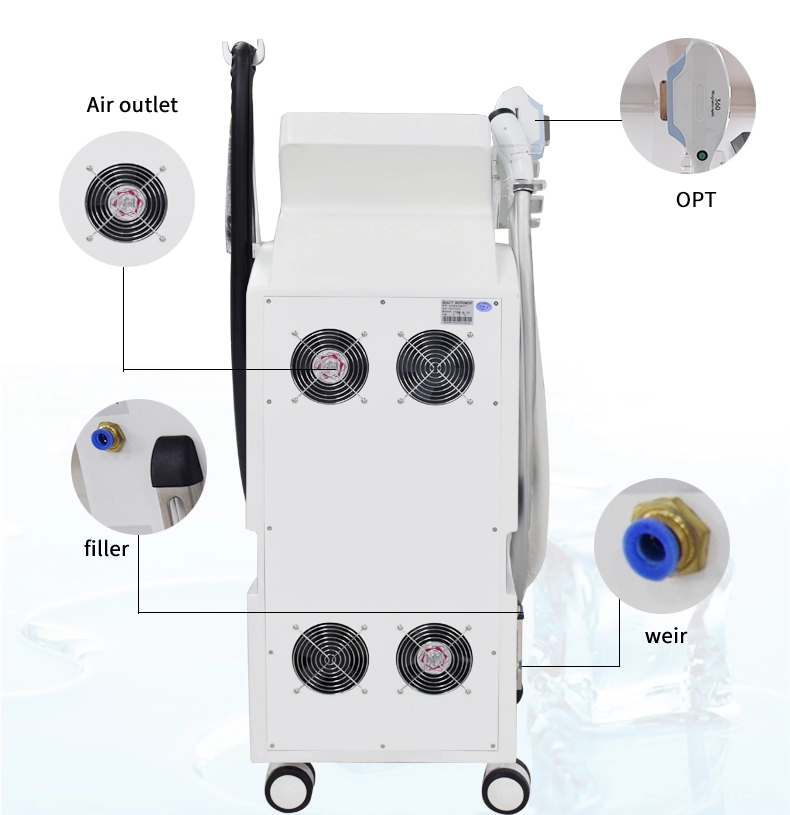Professional Laser Hair Removal Machine - IPL OPT SHR Laser Hair Removal & Acne Treatment Machine