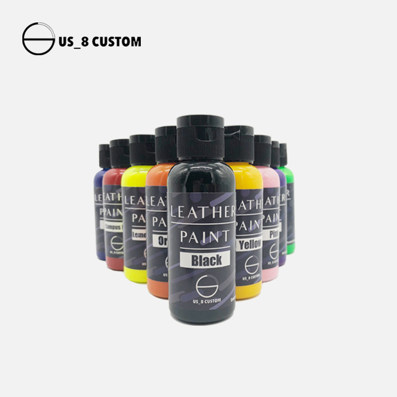 Sneakers DIY Pigment Leather Dye Color Change Dyeing Paint Coating Acrylic Shoes Bag Wood Handwork 30ml/bottle
