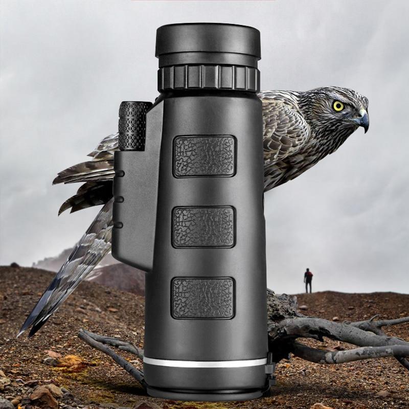 Monokularni 40X60 zum jasni slabi džepni teleskop za noćni vid s - Kampiranje i planinarenje - Foto 4