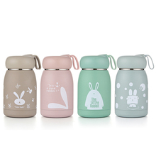 Creative 304 stainless steel childrens mug new cute portable gift cup 320ml cartoon student