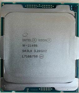 Image 2 - Gezogen Xeon W 2140B CPU 3,2 GHz 8 Core 16 Themen LGA2066 Prozessor