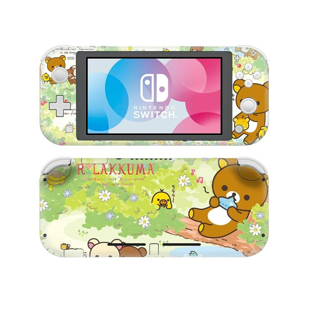 Vinyl Screen Skin Cute Animal Rilakkuma Protector Stickers For Nintendo Switch Lite NS Console Nintend Switch Lite Skins