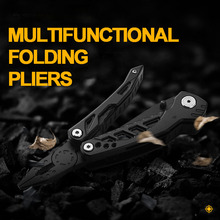 Multitools Folding Plier EDC Scissors Camping Fishing Multi Tools Plier Screwdriver Bits Multifunctional Tool Knife Survival mini folding pliers pocket edc camping tool with screwdriver kit camping climbing hiking plier cutting tool hand tools