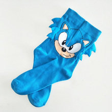 Funny Sonic cosplay socks Fashion Women Men sock Comfortable Novelty Sonic socks