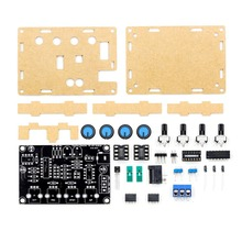 ICL8038 Multi-function LOW Frequency Signal Generator DIY Kit Scatter with Housing xr2206 Upgrade diy 555 multi wave signal generator circuit kit