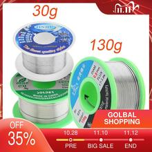Welding Wires 0.5/0.6/0.8/1/1.2mm 63/37 FLUX 1.2%  Tin Lead Tin Wire Melt Rosin Core Solder Soldering Wire Roll