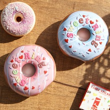 Donut Tin Box Sealed Jar Packing Boxes Jewelry Candy Box Small Storage
