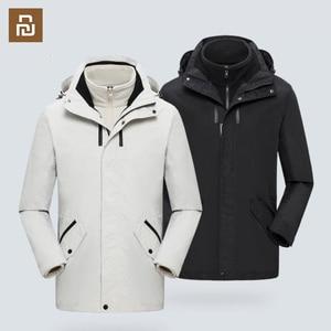Image 2 - Дорожная куртка средней длины, съемное многофункциональное хранилище, ветрозащитное и водонепроницаемое уличное пальто для альпинизма