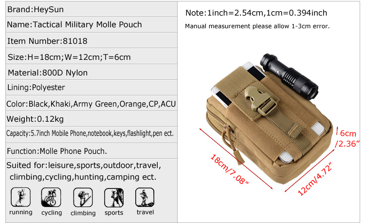 Ha80f7cec5f8e4e0fa2a072c9ad16d770x - IKSNAIL Tactical Pouch Molle Hunting Bags Belt Waist Bag Military Tactical Pack Outdoor Pouches Case Pocket Camo Bag For Iphone