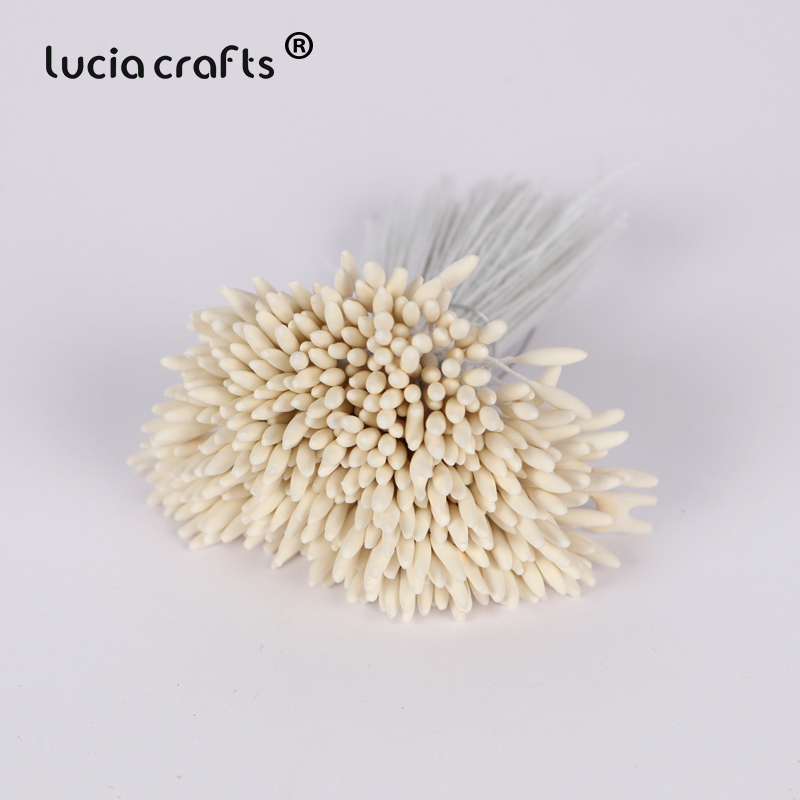 Pack of 288 heads White Lily Stamens
