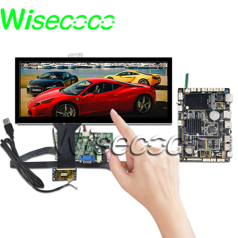 Top Sale‹Wisecoco Touch-Panel Instrumentation Android-Board Hdmi-Display Automotive 1920--720