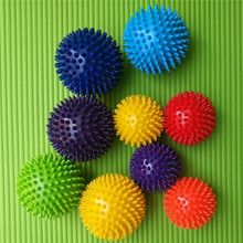 PVC Thorn Ball Massage Acupoint Grip Tip Nail Fascia Yoga Fitness Hedgehog Equipment Health