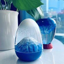 Gift Sand-Painting Liquid Hourglass Decoration Volcanic Birthday-Gift Creative