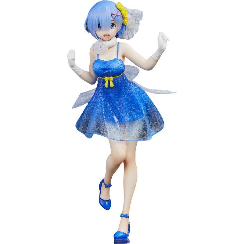 Pre Verkauf Rem Figurine Anime Peripherie Rem Anime Figure Sammlung Action Modell Ornamente Japanischen Version Mädchen Spielzeug Geschenk Puppe
